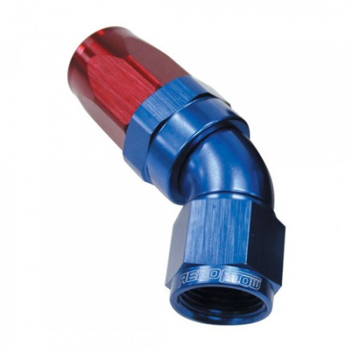 Aeroflow 150 Series Full Flow 45° Taper Hose Ends