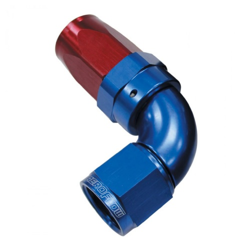 Aeroflow 150 Series Full Flow 90° Taper Hose Ends