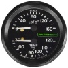 Racetech Dual Mechanical Pressure/Temperature Gauge