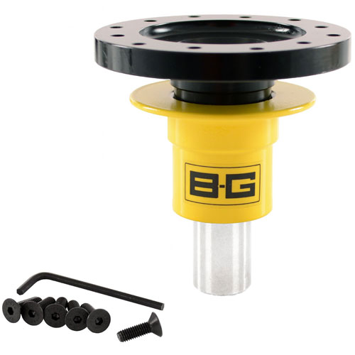 BG Racing Quick Release Steering Hub Weld-on 6 Point