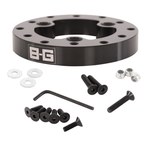 BG Racing Steering Wheel Adaptor 3 to 6 Hole