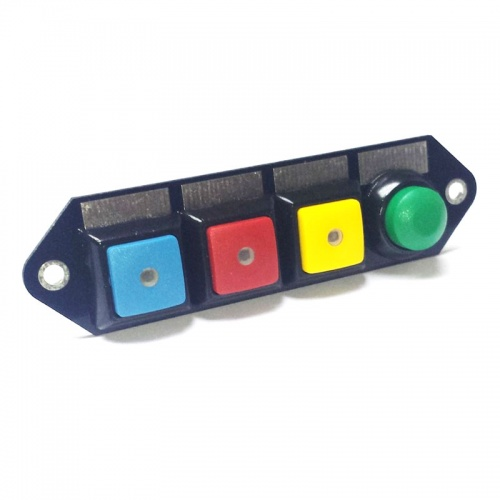 Cartek PDM Switch Panel 4W Coloured/Push Start