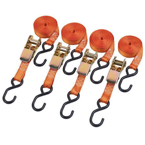 Clarke 25mm Heavy Duty Tie Down Straps 4 Pack