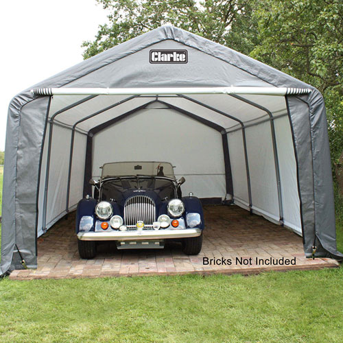 Instant Garage Car Covers : Clarke cig heavy duty instant garage ft msar