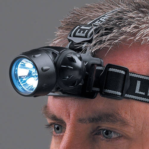 Clarke CTH3AAA LED Incandescent Head Torch