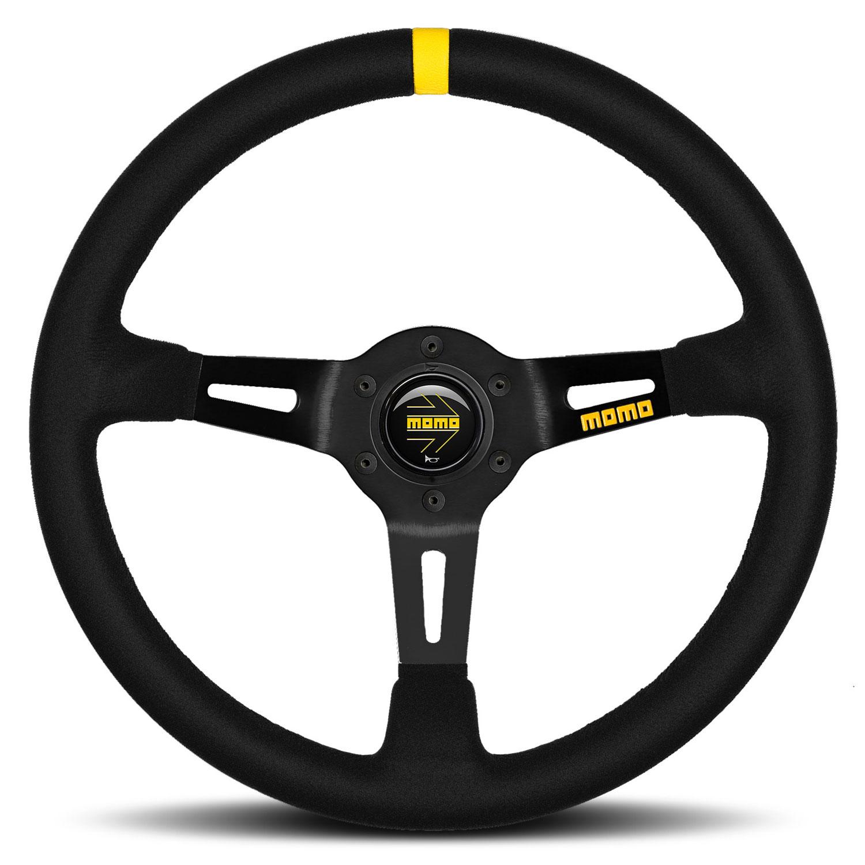 Momo Model 08 Steering Wheel Black