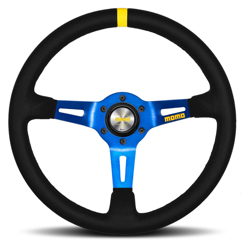 Momo Model 08 Steering Wheel Blue