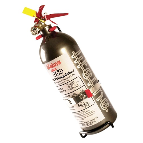 Lifeline Zero 360 Hand Held Fire Extinguisher 3kg