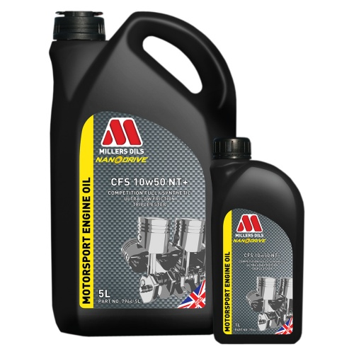 Millers Oils CFS 10w50 NT+ Motorsport Engine Oil
