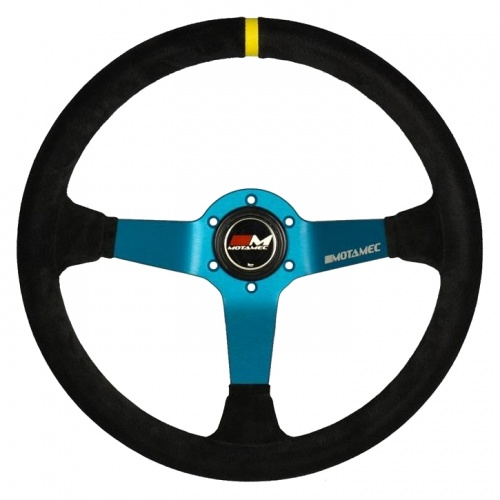 Motamec Pro Rally Blue Steering Wheel
