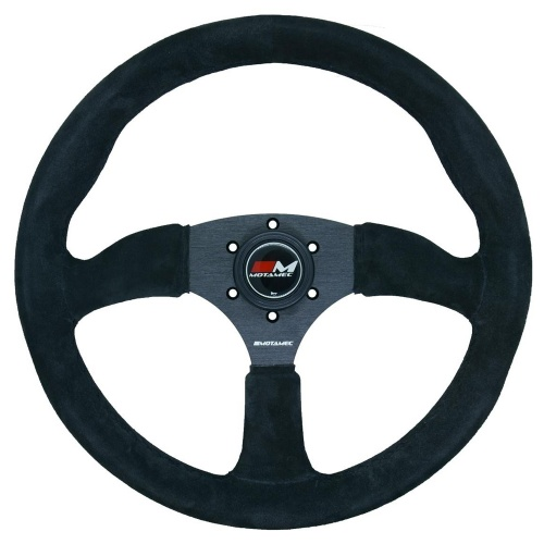 Motamec Race Rally Gray Steering Wheel