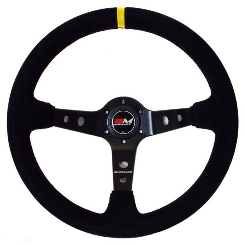 Motamec Rally Black Steering Wheel