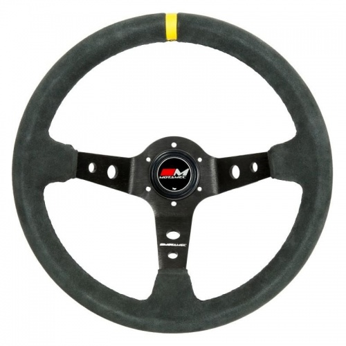Motamec Rally Gray Steering Wheel