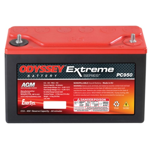 Odyssey Extreme Racing 30 Battery - PC950