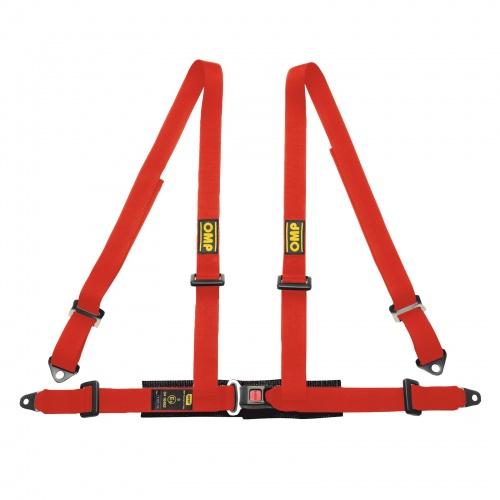 OMP Road 4 Point Bolt-In Harness