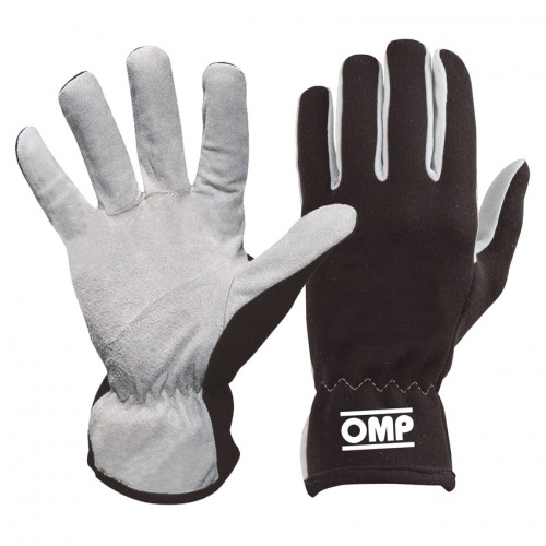 IB//702//B//S Rally Gloves, Blue, Small OMP
