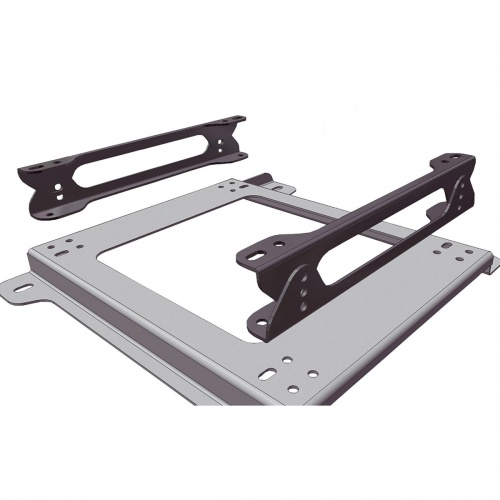 OMP Adjustable Seat Height Base Mount Brackets