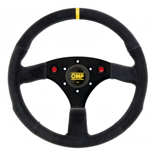 OMP 320 Uno Steering Wheel with Horn Push