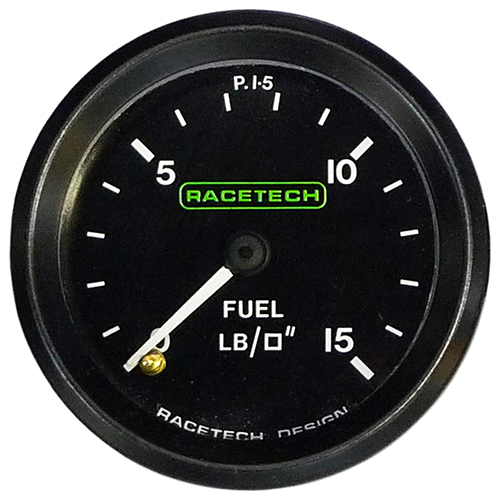 Racetech Mechanical Fuel Pressure Gauge