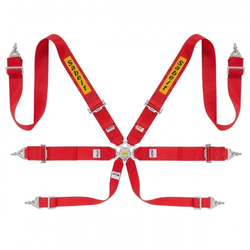 Sabelt Lightweight Saloon 6 Point Harness