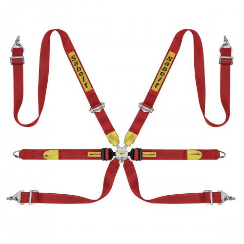 Sabelt Ultralight GT Saloon 6 Point HANS Harness