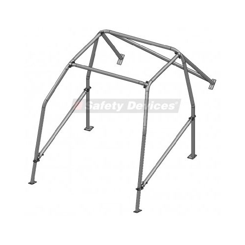 safety devices alfetta 6 pt bolt in rollcage - a004