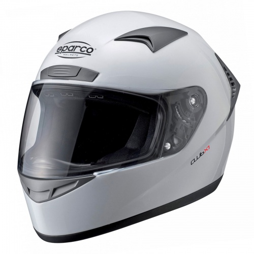 Sparco Club X1 Helmet White