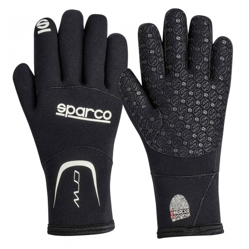Sparco CRW Winter Wet Weather Kart Gloves