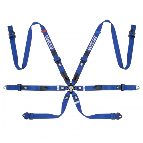 Sparco Prime H-7 Ultralight 6 Point FHR Harness