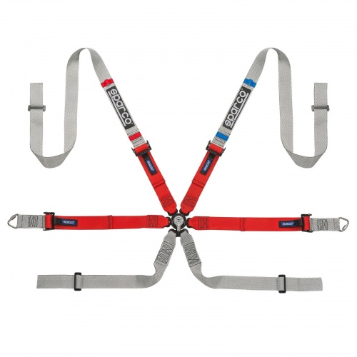 Sparco Prime H-9 Ultralight 6 Point Harness