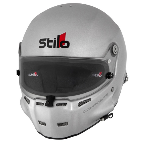 Stilo ST5 F Composite Helmet in SIlver