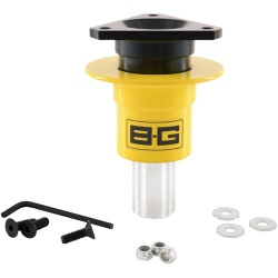 BG Racing Quick Release Steering Hub Weld-on 3 Point
