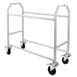 BG Racing Double Tier Wheel and Tyre Trolley