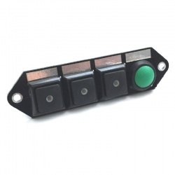 Cartek PDM Switch Panel 4W Plain/Push Start