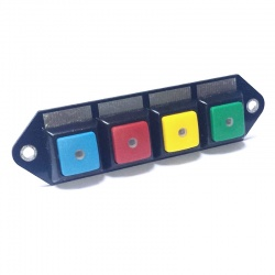 Cartek PDM Switch Panel 4W Plain Coloured