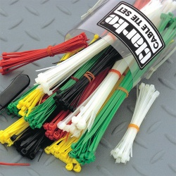 Clarke CHT310 Coloured Cable Tie Set
