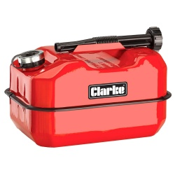 Clarke 10 Litre Large Base Metal Fuel Can