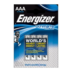 Energizer Ultra Lithium Batteries