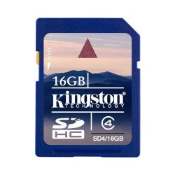 GoPro 16 GB Kingston SD Memory Card