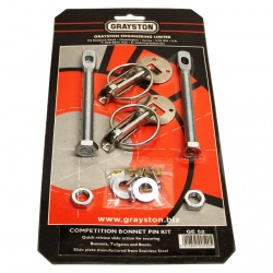 Grayston Stainless Steel Bonnet Pin Kit