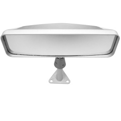 Lifeline Centre Mount Sports Car Mirror in White