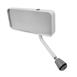 Lifeline FIA Formula Mirror in White