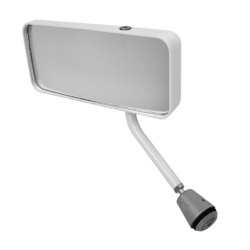 Lifeline FIA Touring GT Mirror in White