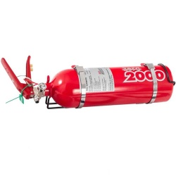 Lifeline Zero 2000 2.25ltr Fire Marshal Fire Extinguisher Kit