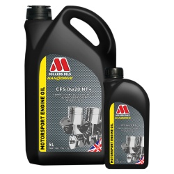 Millers Oils CFS 0w20 NT+ Motorsport Engine Oil
