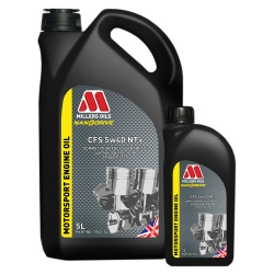 Millers Oils CFS 5w40 NT+ Motorsport Engine Oil