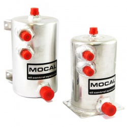 Mocal 1.5ltr Fuel Swirl Pots -06 JIC Fittings