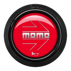 Momo Arrow Gloss Red Horn Push 2 Contact