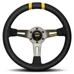 Momo Drift Steering Wheel Black
