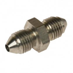 Motamec -03 JIC Stainless Steel Male/Male Adaptor